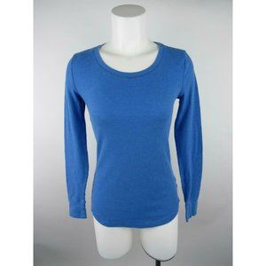 Mossimo Supply Co Solid Thermal Scoop Knit Top